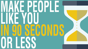 Read more about the article How to Make People Like You in 90 Seconds Or Less Book Summary