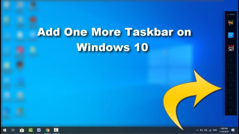 how to create two or more taskbars on your windows pc computer, how to create two or more taskbars on your windows pc laptop,